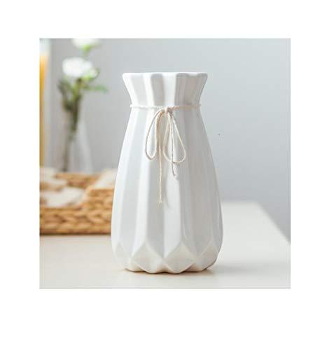 DINGANG Vaas decoratie IKEA woonkamer wit porselein kleine verse droge bloem arrangement mooi