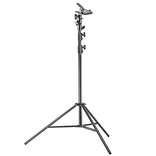 Neewer Photo Studio Pro 9 feet/260 centimetres Aluminum Alloy Light Stand and Heavy Duty Metal Clamp Holder for Reflectors for Photo Video Portrait Photography
