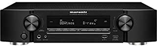 Marantz NR1710 UHD AV Receiver (2019 Model) – Slim 7.2 Channel Amp   Wi-Fi, Bluetooth, Heos + Alexa   Auto Low Latency Mode for Xbox One   Immersive Movies, Music & Gaming   Smart Home Automation