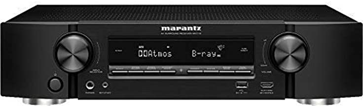 Marantz NR1710 UHD AV Receiver (2019 Model) – Slim 7.2 Channel Amp | Wi-Fi, Bluetooth, HEOS + Alexa | Auto Low Latency Mode for Xbox One | Immersive Movies, Music & Gaming | Smart Home Automation