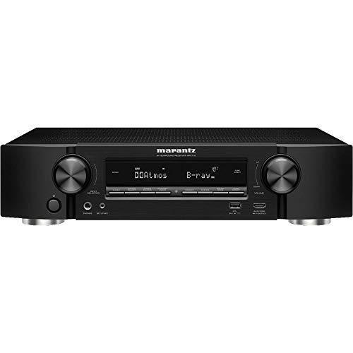 Marantz NR1710 UHD AV Receiver (2019 Model) – Slim 7.2 Channel Amp | Wi-Fi, Bluetooth, HEOS + Alexa | Auto Low Latency Mode for Xbox One | Immersive Movies, Music & Gaming | Smart Home Automation