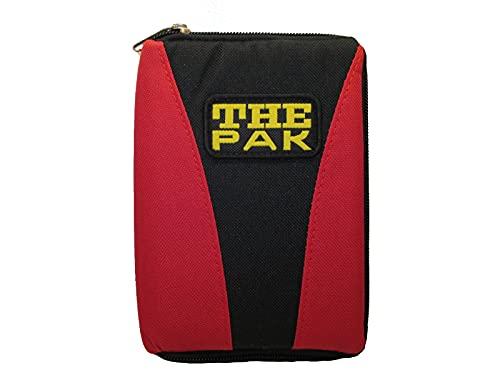 Karella The PAK-Multi original, schwarz-rot, Platz für 3 Dartsets, handlich und geräumig, Perfekter Schutz