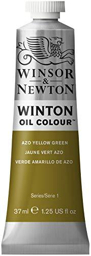 Winsor & Newton 1414280 Winton Oil Color Paint, 37-ml Tube, Azo Yellow Green