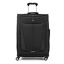 top rated Travelpro Maxlite 5-Soft Side Extendable Bike Case Black Check-Medium 25inch 2021