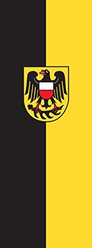 magFlags Drapeau Rottweil (Kreis) | Portrait Flag | 6m² | 400x150cm