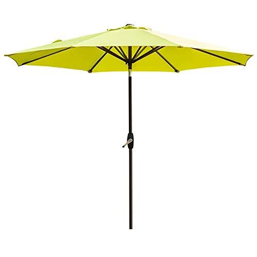 LXYZ Pkfinrd - Sombrilla para jardín (270 cm), color verde