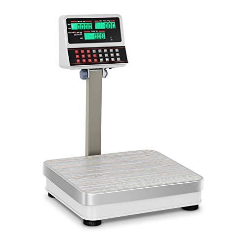 Steinberg Systems SBS-PW-100/10 Kontrollwaage Ladenwaage Marktwaage 100 kg / 10 g LCD viele Funktionen