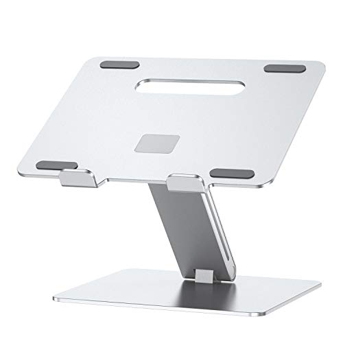 Laptop Stand, Ergonomic Aluminum Laptop Mount Computer Stand, Detachable Laptop Riser Notebook Holder Stand Compatible with MacBook Air Pro, Dell XPS, Lenovo More 10-15.6' Laptops