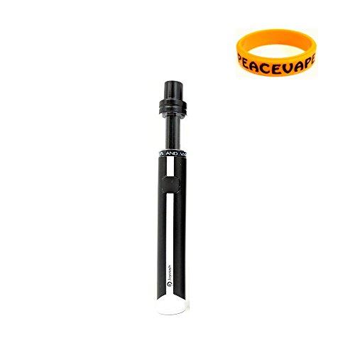 Joyetech EGO AIO ECO Kit di partenza 650 mAh - NERO E Sigarette Senza Nicotina con PEACEVAPE™ Vape Band