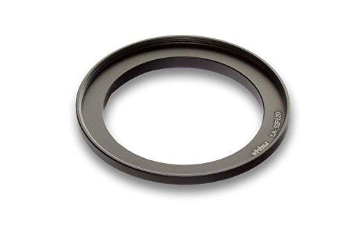 vhbw Adattatore Metallico per Filtri 62mm Nero per Fotocamera Nikon CoolPix P510, P520, P530 come LA-62P520.