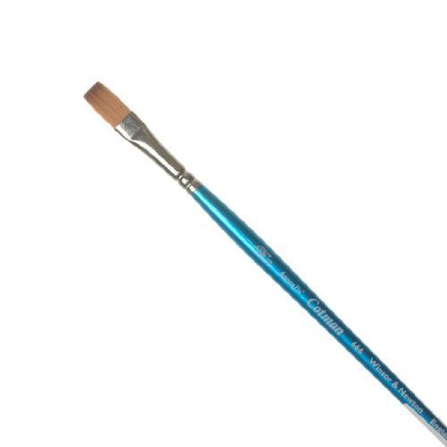 Winsor & Newton Cotman Water Colour Brushes 1/4 in. one stroke flat 666 by Winsor & Newton