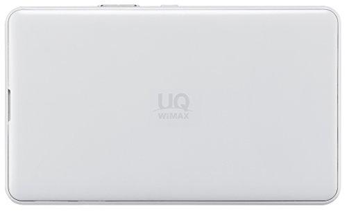 『UQコミュニケーションズ Wi-Fi WALKER WiMAX 2+ NAD11 ホワイト』の1枚目の画像