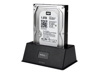 StarTech.com SDOCKU33BV - USB 3.0 SATA III Hard Drive Docking Station SSD / HDD with UASP