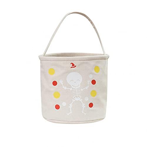 Dasongff Halloween Süßigkeits Tasche,Kürbis Hexe Stofftaschen Tragetaschen,Halloween Süßes oder Saures Bags,aus Tuch für Kinder Party,Wiederverwendbare Geschenktüten Partytüten Candy Bags