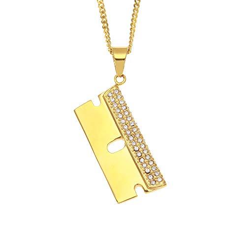 ZSTY Raspador Colgante, Aspiradora Acero Inoxidable del Diamante de retención del Color...