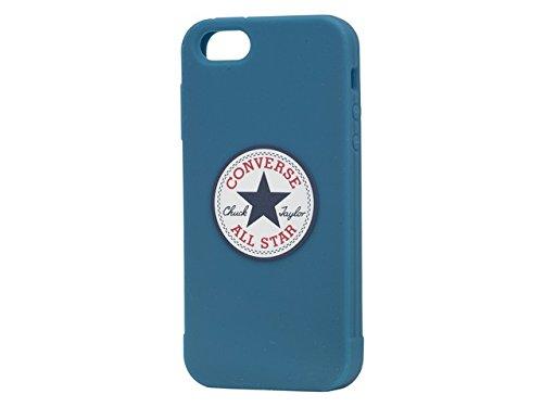 Converse COCT002 - Funda TPU con Logo Chuck Taylor para Apple iPhone 5/5S, azul