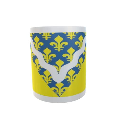 U24 Tasse Kaffeebecher Mug Cup Flagge Val de Marne Department