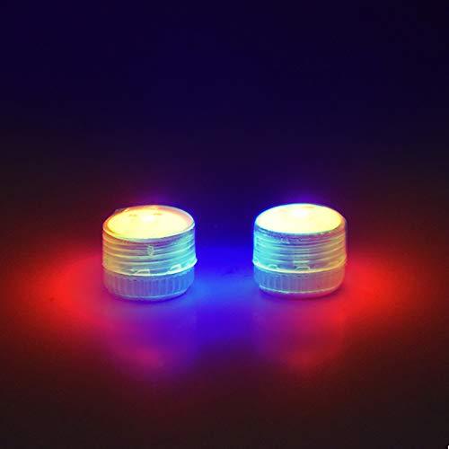 Hunpta @ 2 Stück Universelles Nachtfluglicht mit Akku für DJI Mavic Mini 2/ für Mavic Mini 2/ für Mavic Pro/für Spark, Rot Blau Blinkt Nachtlicht Drohne Erweiterung Schutz Zubehör