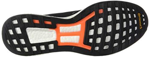 adidas Men's Adizero Boston 8 Running Shoe, Black/White/Grey, 12 M US 7