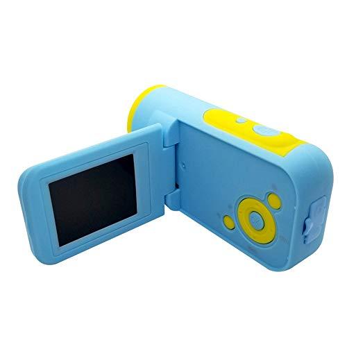 YAzNdom Kinderkamera Digital 5MP Mini Digital Video Camcorder Kleinkind-Kamera Mit 2-Zoll-Display Und LED-Blitz for Mädchen Jungen Spielzeug Geschenke Geeignet Zum Zelten Und Wandern