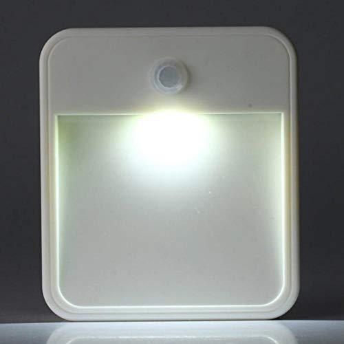 Creatieve bewegingssensor Smart Led nachtlampje USB opladen slaapkamer lamp zacht licht