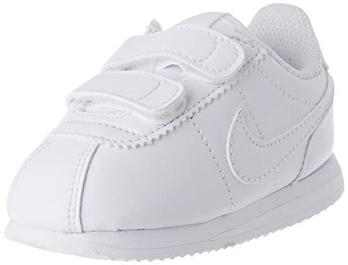 Nike Boys Cortez Basic SL (TD) Toddler Shoe, Zapatillas de Atletismo para Niños, Blanco (White/White/White 100), 25 EU