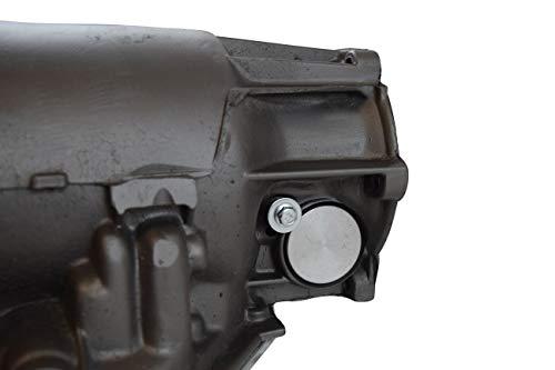 ICT Billet Billet Aluminum TH400 Speedometer Plug Turbo 400 Chevy Transmission SBC 305 327 350 383 5.0L 5.7L V8 Designed and Manufactured in the USA Bare Aluminum 551908