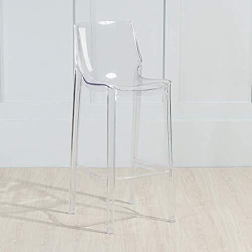 Bar stools-GAP ♦ JBD Barhocker Hoher Fußstuhl Einfache Kunststoff Mode Sitzzähler Esszimmerstuhl Neu (75 cm Sitzhöhe) ~0407