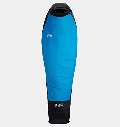 Mountain Hardwear Lamina Slaapzak -9 °C Extra Long Electric Sky Uitvoering Right Zipper 2020 Quechua Slaapzak