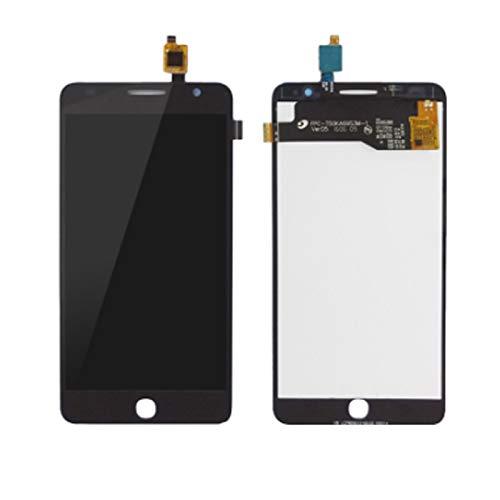 MOLIBAIHUO Compatible con Alcatel One Touch Pop Star 3G OT5022 OT 5022 OT-5022 5022X 5022D Pantalla LCD Panel de Pantalla táctil Montaje digitalizador + Herramienta Gratis LCDs (Color : Black)
