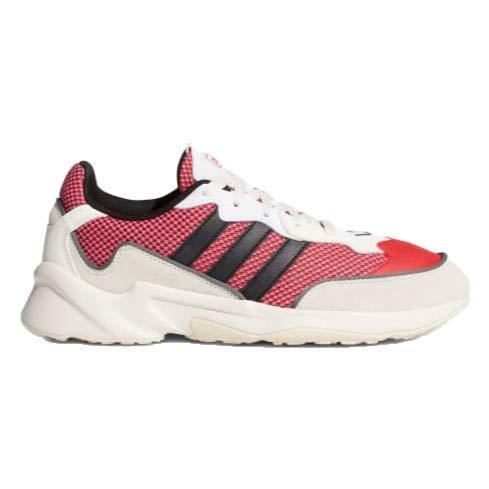 adidas Men's 20-20 Fx Sneaker, Scarlet/core Black/Grey Six, 13 M US