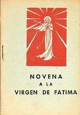 NOVENA A LA VIRGEN DE FÁTIMA.