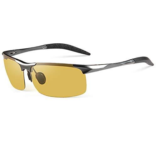 blue light glasses |gafas de sol| Uso polarizado gafas de visión nocturna anti-alta haz de la lente gafas de sol de color especial anti-azul gafas de sol de visión nocturna cambiará de color (sin Grad