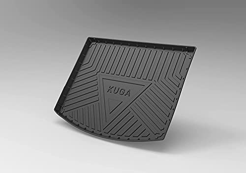 Goma Alfombrillas Maletero para Ford KUGA 2013-2020, Antideslizante Maletero Trasero Protectoras De Cubierta, Coche Accesorios Interiores Impermeables Alfombras