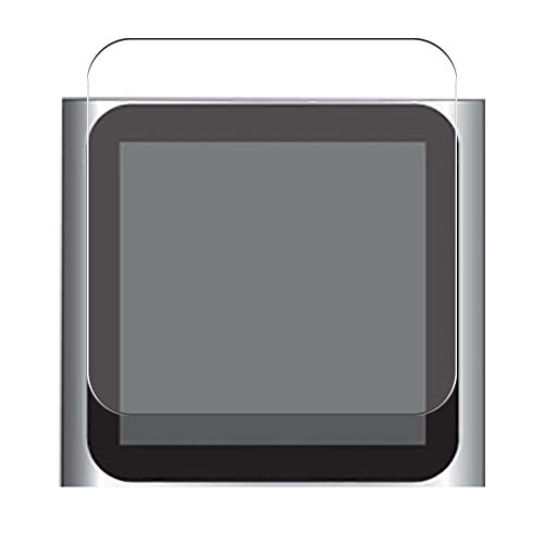 Vaxson 4 Unidades Protector de Pantalla, compatible con Apple iPod nano 6 nano6 6th [No Vidrio Templado] TPU Película Protectora