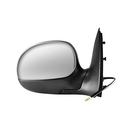 Right Passenger Side Chrome Cover Side View Mirror for 1997-1999 Ford F-250, 2004 Ford F-150 Heritage, 1997-2003 Ford F-150 - Parts Link # FO1321138