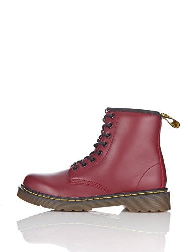 Dr. Martens Unisex-Kinder Delaney Softy T Bootsschuhe, Rot (Cherry Red), 29 EU