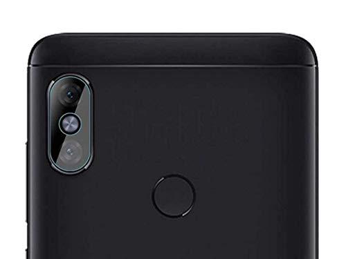 Película De Vidro Temperado Para Câmera Xiaomi Mi A2 Lite Com Tela 5.84 Polegadas Proteção Da Lente Blindada Anti Impacto Top Premium - Danet