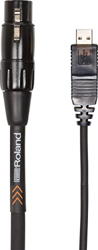 Cable de interconexión RCC-10-USXF XLR (hembra) - USB - PVC