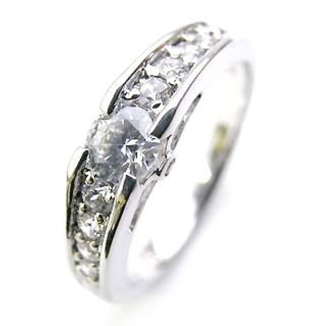 西部家禽レンチ( 婚約指輪 ) ダイヤモンド プラチナエンゲージリング( Brand Jewelry Angerosa ) #7