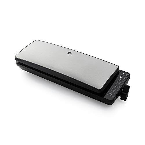 Wilfa HERRING vakuumförpackare - förlänger matens hållbarhet, lämplig för sous vide, 110 watt, silver