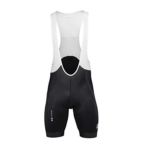 POC Essential Road Bib Shorts pour Homme XS Noir (Uranium Black)