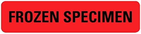 Frozen Specimen Medical All stores are Cheap bargain sold Labels LV-MLC7