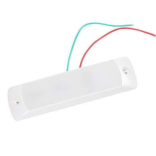AOHEWEI Auto Innenbeleuchtung LED 12V Rechteckige Innenraumbeleuchtung Deckenleuchte Innenraumleuchte mit Sensorschalter für das Auto Wohnwagen Wohnmobil Camping Boot (weiß)