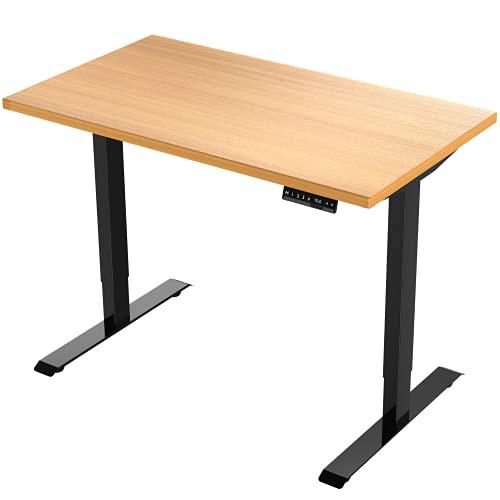 E.For.U® E7 Elektrisch Höhenverstellbarer Schreibtisch + 140x80 cm...