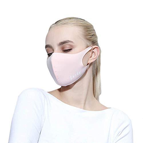 Zolimx Anti Verschmutzung Pollen Staub Mehrweg Mundschutz für Radfahren Reiten Staubdicht Outdoor Frauen Waschbar Wiederverwendbare Schutz Drucken Gesichtsschut