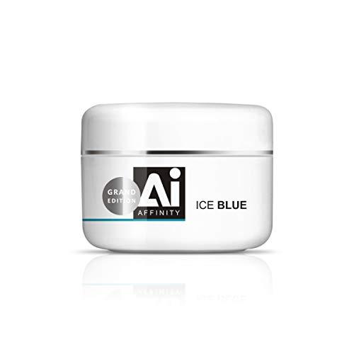 Silcare UV-Gel Affinity Ice Blue Maxi, 100 g, Anti-Hitze, 60 % Haftung, mittel/hohe Dichte für Abdeckungen und Nachfüllpackungen, 100 g