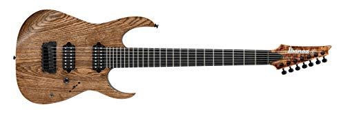 Ibanez RG Iron Label E-Guitar 7 cuerdas – Color marrón envejecido de bajo brillo (RGIXL7-ABL)