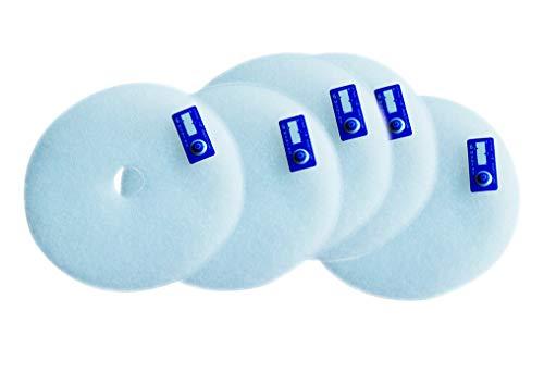Original ZF EC+ Ersatz-Luftfilter Art.-Nr. 0093.0610 von Maico Ventilatoren, Verpackungseinheit 5 x G2 inkl. 5 Timestrips, für Abdeckung ER-A des Ventilatoreinsatzes ER