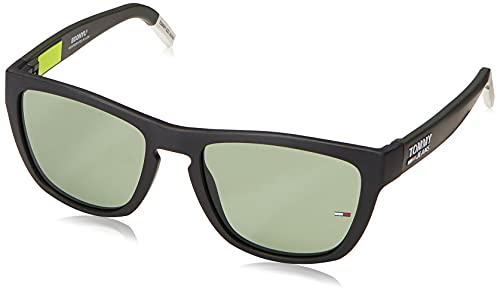 Tommy Hilfiger TJ 0002/S Sunglasses, MTBLCKGRN, 54 Unisex-Adult